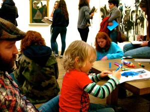 Making art at the Tate Modern